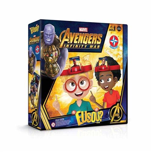 Jogo Eu Sou...? Avengers Vingadores Guerra Infinita - Estrela