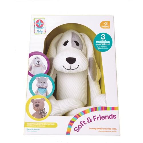 Pelúcia Soft And Friends - Doggy - Estrela