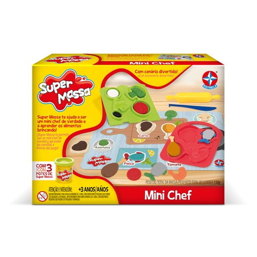 Super Massa Mini Chef - Estrela