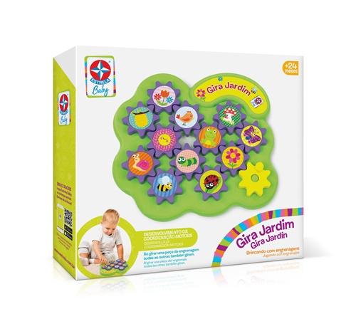 Gira Jardim Brincando com Engrenagens - Estrela