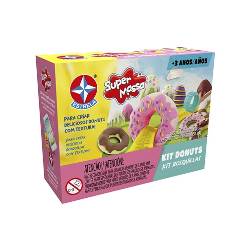 Super Massa Kit Donuts - Estrela