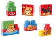 Blocos de Montar Tchuco Blocks Navio Pirata - Samba Toys