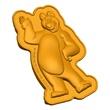 Conjunto Urso - Masha e o Urso - Estrela