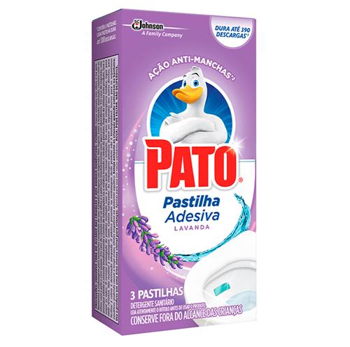 PASTILHA ADESIVA PATO LAVANDA