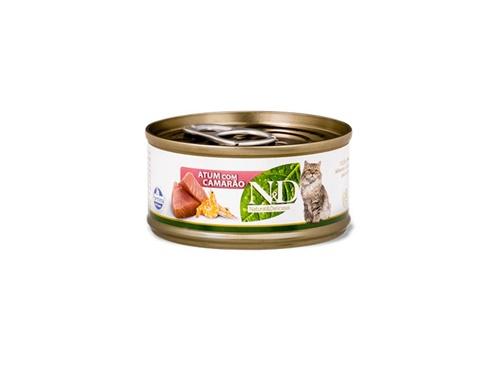 N&D Feline Lata Atum com Camarão 70g