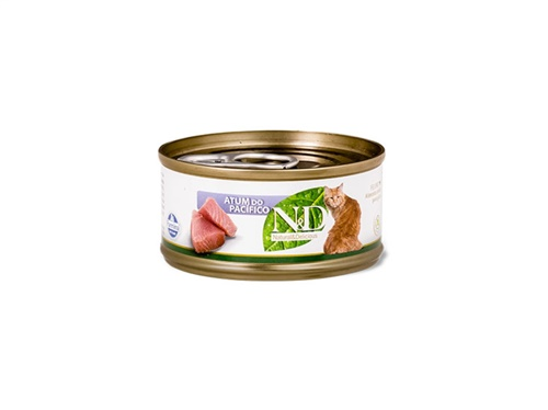 N&D Feline Lata Atum do Pacífico 70g