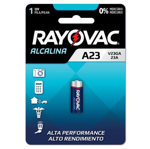RAYOVAC PILHA 12V SM V23GA | CAIXA  C/ 10X1 UNID
