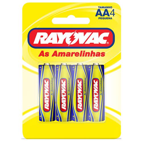 RAYOVAC PEQUENA C/4  | CAIXA  C/ 48X4