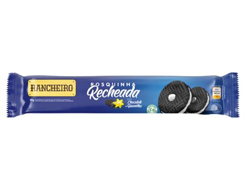 BISCOITO RECH. RANCHEIRO CHOCO/BAUN 90 G