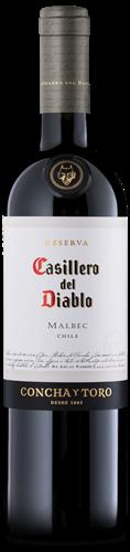 V CASILLERO DEL DIABLO MALBEC 750 ML
