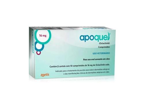 Apoquel 16mg caixa c/ 20 comprimidos