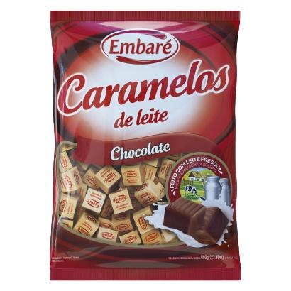 BALA DE CARAMELO EMBARE 660 G CHOCOLATE