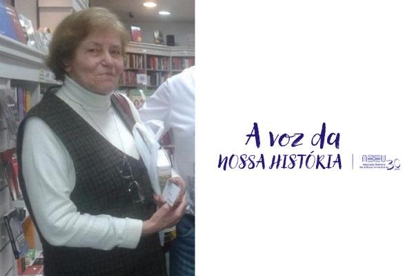 A Voz da Nossa História — Entrevista com a primeira vice-presidente da ABEU, Maria do Carmo Guedes