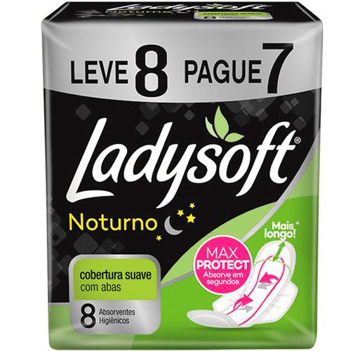 ABSORVENTE LADYSOFT NOTURNO COM ABAS LV 8 PAG 7