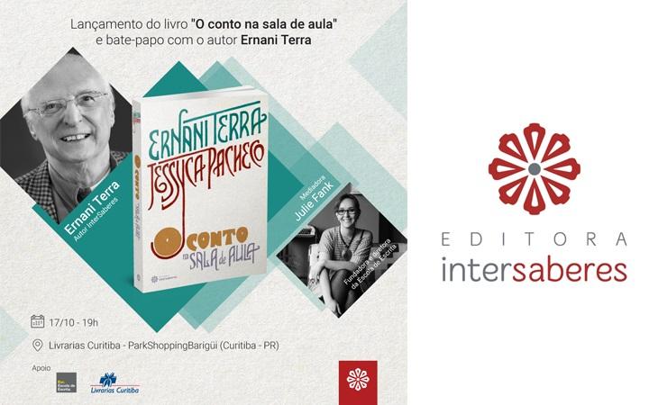 """Editora InterSaberes promove bate-papo e lançamento do livro """"O conto na sala de aula"""""""