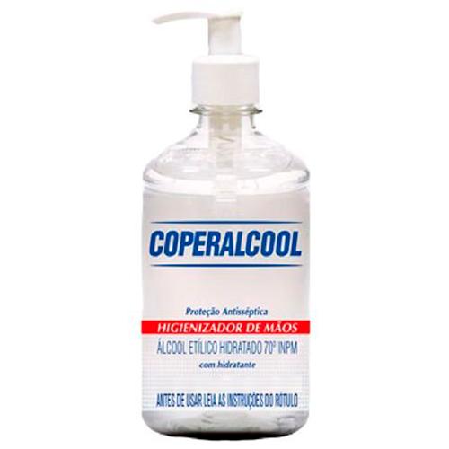 ÁLCOOL GEL COPERALCOOL P/MÃOS  400G   CAIXA  C/ 12X400G