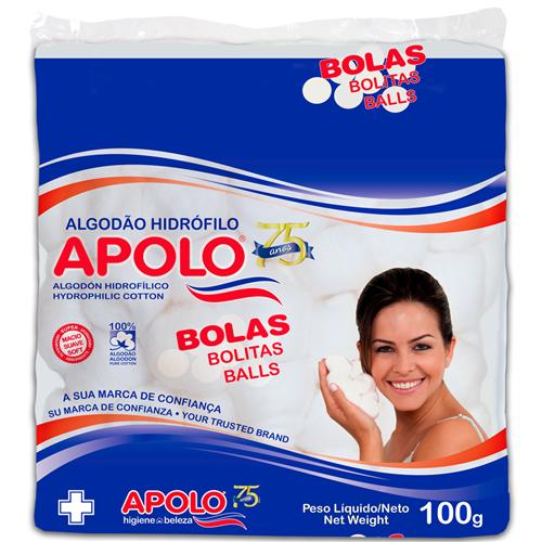 ALGODÃO APOLO BOLA 100 GRAMAS