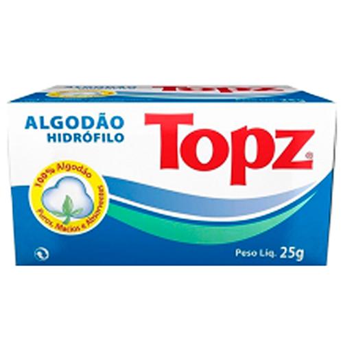 ALGODÃO TOPZ HIDRÓFILO  ROLO