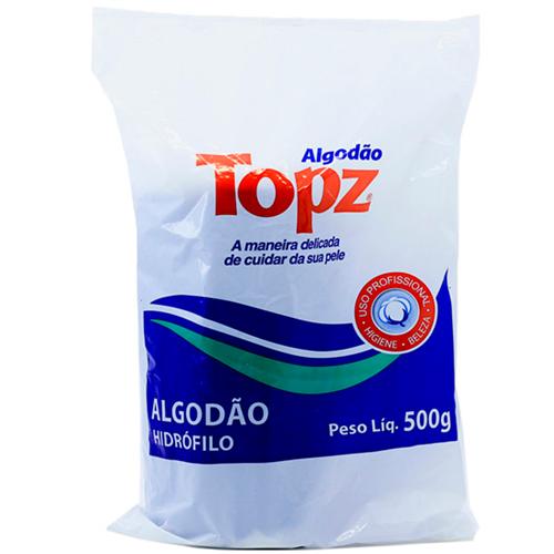 ALGODÃO TOPZ ROLO 500 GRAMAS