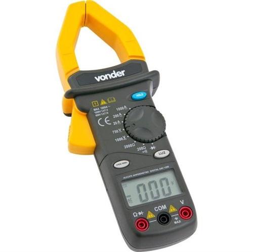 ALICATE AMPERÍMETRO DIGITAL AAV4200 VONDER
