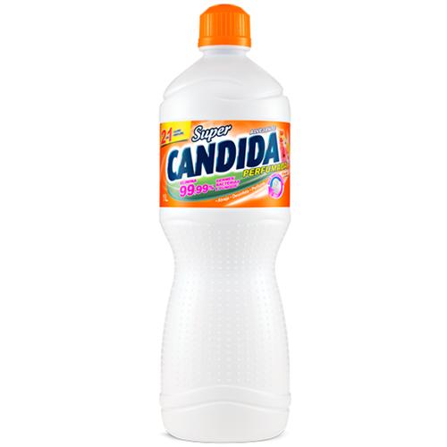 ALVEJANTE SUPER CANDIDA FLORAL 1 LITRO  | CAIXA  C/ 12X1L