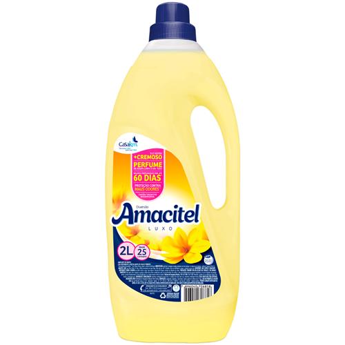 AMACIANTE AMACITEL DIVERSÃO AMARELO    CAIXA  C/ 6X2L