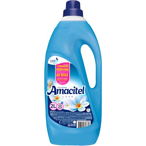 AMACIANTE AMACITEL TOQUE POESIA AZUL    CAIXA  C/ 6X2L