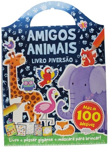 Amigos animais - Livro diversão