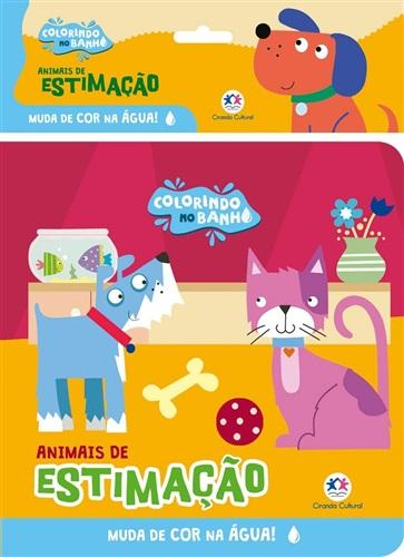 Animais de estimação - Livro de banho