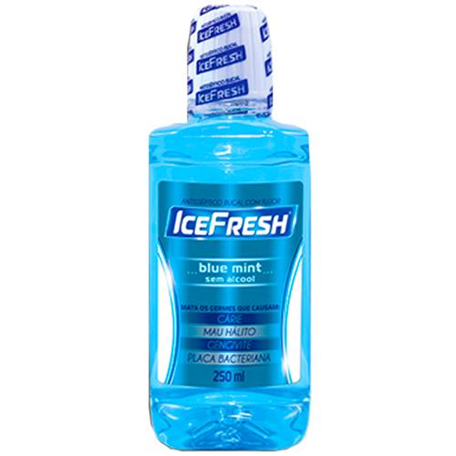 ANTISSÉPTICO BUCAL  ICEFRESH BLUE MINT | CAIXA  C/ 6X250ML