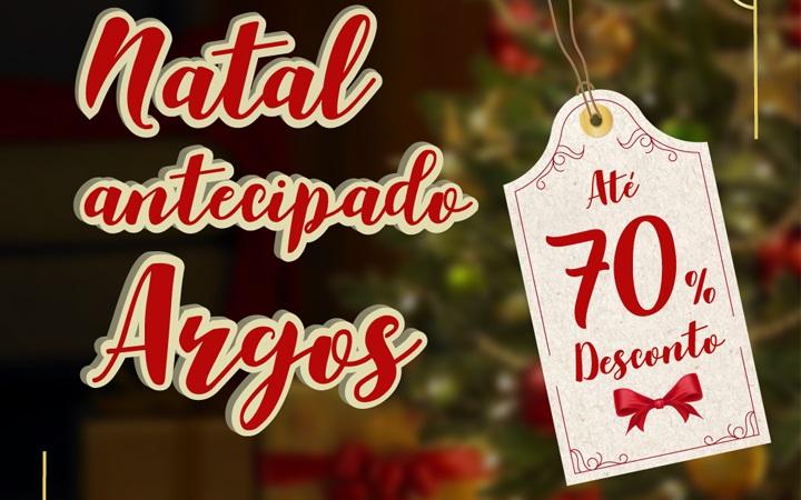Argos inicia promoção antecipada de Natal