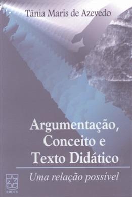 Argumentação, conceito e texto didático: uma relação possível