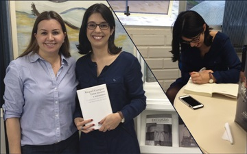 Autora Raquel Campos lança obra em Chapecó