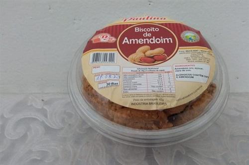 Biscoito de amendoim - Açúcar Mascavo