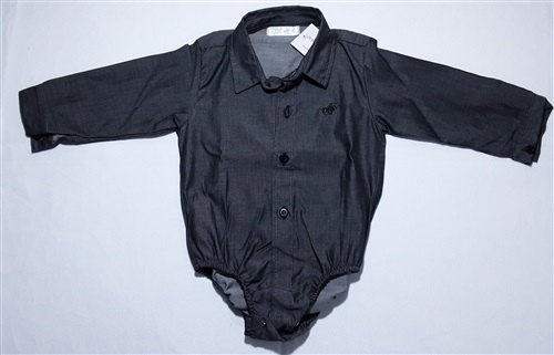 BODY CAMISA PRETO BORDADO 2447B1