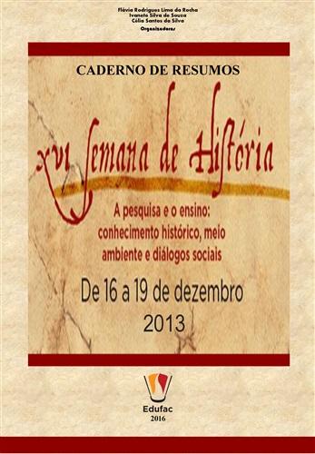 Caderno de Resumos da XVI Semana de História