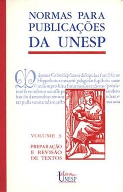 Normas para publicações da Unesp Vol. 3