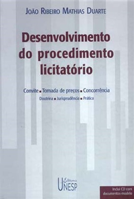 Desenvolvimento do procedimento licitatório (com CD)