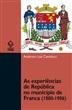 As experiências de República no município de Franca (1880-1906)