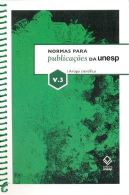 Normas para publicações da Unesp – Vol. 3