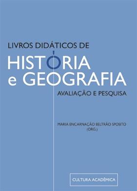 Livros didáticos de história e geografia