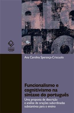 Funcionalismo e cognitivismo na sintaxe do português