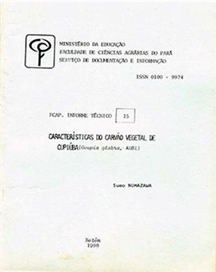 CARACTERÍSTICAS DO CARVÃO VEGETAL DE CUPIÚBA (Goupia glabra, AUBL).