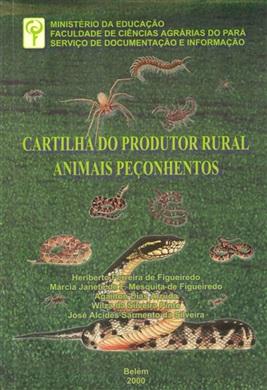 CARTILHA DO PRODUTOR RURAL - ANIMAIS PEÇONHENTOS