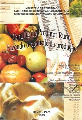 CARTILHA DO PRODUTOR RURAL - FAZENDO CONTROLE DA PRODUÇÃO