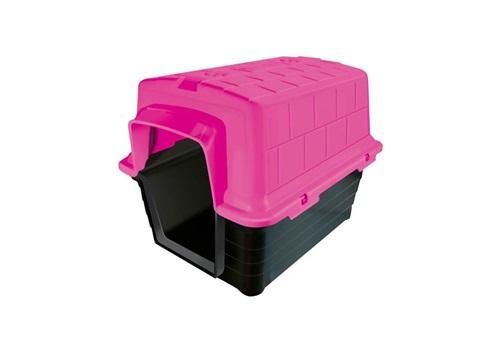 Casinha de Plástico para Pet n°1 Rosa Furacão Pet