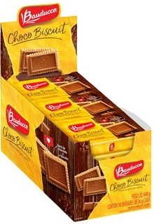 CHOCOBISCUIT AO LEITE 36G DISPLAY