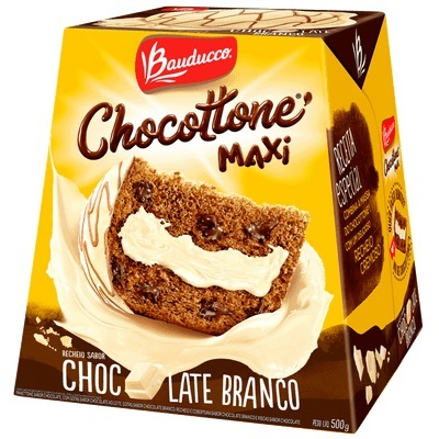 CHOCOTTONE MAXI CHOCOLATE BRANCO 18X500G