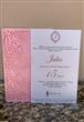 Convite para aniversário de 15 anos - Rendado R5