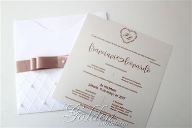 Convite para casamento - Passione Canoa